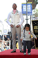 LOS ANGELES - SEP 24:  Terrence Howard, child at the Terrence Howard Star Ceremony on the Hollywood Walk of Fame on September 24, 2019 in Los Angeles, CA