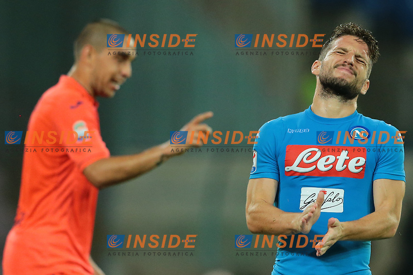 Delusione di Dries Mertens Napoli, dejection<br /> Napoli 26-10-2016  Stadio San Paolo <br /> Campionato Serie A Napoli - Empoli<br /> Foto Cesare Purini / Insidefoto