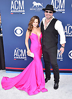 LAS VEGAS, CA - APRIL 07: Sara Brice (L) and Lee Brice attend the 54th Academy Of Country Music Awards at MGM Grand Hotel &amp; Casino on April 07, 2019 in Las Vegas, Nevada.<br /> CAP/ROT/TM<br /> &copy;TM/ROT/Capital Pictures