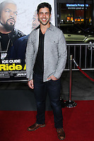 "HOLLYWOOD, CA - JANUARY 13: Josh Peck at the Los Angeles Premiere Of Universal Pictures' ""Ride Along"" held at the TCL Chinese Theatre on January 13, 2014 in Hollywood, California. (Photo by David Acosta/Celebrity Monitor)"