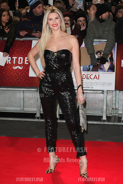 Sarah Jane Dunn arriving at the UK film premiere of ' Mortdecai' at Empire Leicester Square, London. 19/01/2015 Picture by: Alexandra Glen / Featureflash