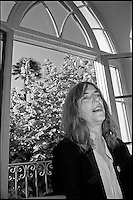 Patti Smith reading al museo Hermann Hesse a Montagnola Lugano