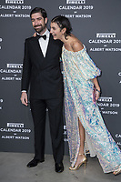 "Carlo Borromeo, Marta Ferri attend the gala night for official presentation of the Presentation of the Pirelli Calendar 2019 ""The cal"" held at the Hangar Bicocca. Milan (Italy) on december 5, 2018. Credit: Action Press/MediaPunch ***FOR USA ONLY***"