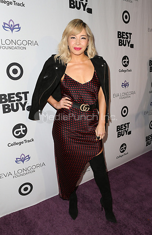 LOS ANGELES, CA - NOVEMBER 8: Katherine Castro, at the Eva Longoria Foundation Dinner Gala honoring Zoe Saldana and Gina Rodriguez at The Four Seasons Beverly Hills in Los Angeles, California on November 8, 2018. Credit: Faye Sadou/MediaPunch