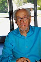 "ELI WALLACH ATTENDS READING AND SIGNING COPIES OF HIS MEMOIR, ""THE GOOD, THE BAD AND ME"" AT MCINTYRE'S FINE BOOKS IN PITTSBORO, NC ON 04-30-2007.  PHOTO BY JONATHAN GREEN"