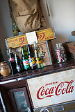CALIFORNIA, Los Angeles, Downtown, old drinks with mashine in Antique store