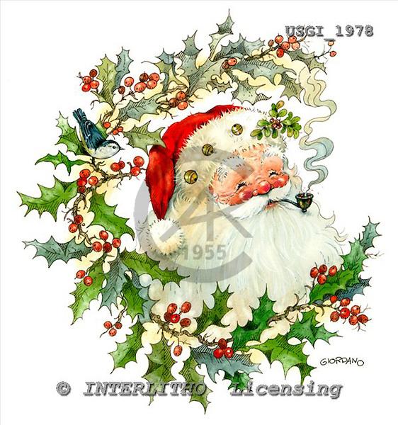 GIORDANO, CHRISTMAS SANTA, SNOWMAN, WEIHNACHTSMÄNNER, SCHNEEMÄNNER, PAPÁ NOEL, MUÑECOS DE NIEVE, paintings+++++,USGI1978,#X# stickers