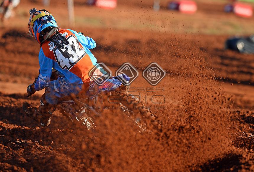 James Jafer / Yamaha<br /> 2015 MX Nationals / Round 4 / MX2<br /> Australian Motocross Championships<br /> Murray Bridge SA Sunday 17 May 2015<br /> &copy; Sport the library / Jeff Crow