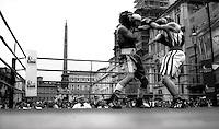 Incontro di Boxe Dilettanti a Piazza Navona