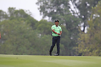 Thongchai Jaidee (THA) on the 18th fairway during Round 3 of the UBS Hong Kong Open, at Hong Kong golf club, Fanling, Hong Kong. 25/11/2017<br /> Picture: Golffile | Thos Caffrey<br /> <br /> <br /> All photo usage must carry mandatory copyright credit     (&copy; Golffile | Thos Caffrey)