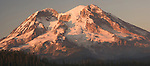 In the early fall and ready for snow, Mount Rainier in Washington is still one of my favorite retreats.