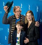 Actor Milo Parker, Hatie Morahan and Ian Mckellen promotes film Mr. Holmes during the LXV Berlin film festival, Berlinale at Potsdamer Straße in Berlin on February 8, 2015. Samuel de Roman / Photocall3000 / Dyd fotografos-DYDPPA.