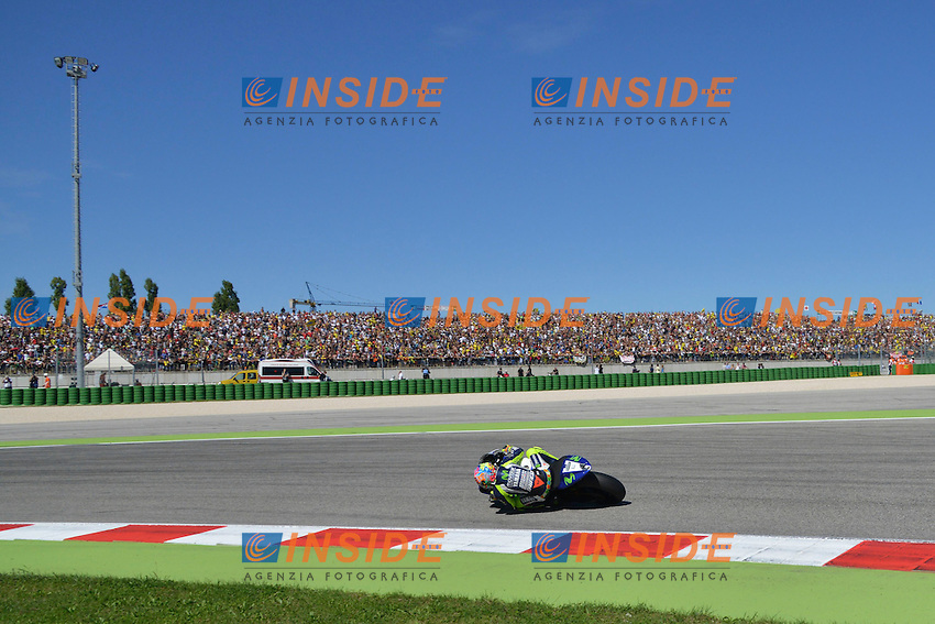 Valentino Rossi Winner <br /> Misano Adriatico (San Marino) 14/09/2014 - gara Moto GP  foto Luca Gambuti/Image Sport/Insidefoto