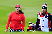 Angel Yin Team USA on the 7th during Day 1 Fourball at the Solheim Cup 2019, Gleneagles Golf CLub, Auchterarder, Perthshire, Scotland. 13/09/2019.<br /> Picture Thos Caffrey / Golffile.ie<br /> <br /> All photo usage must carry mandatory copyright credit (© Golffile | Thos Caffrey)