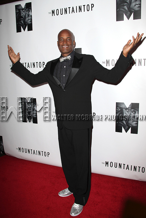 Director Kenny Leon.attending the Opening Night Performance After Party for 'The Mountaintop' at eSpace in New York City.