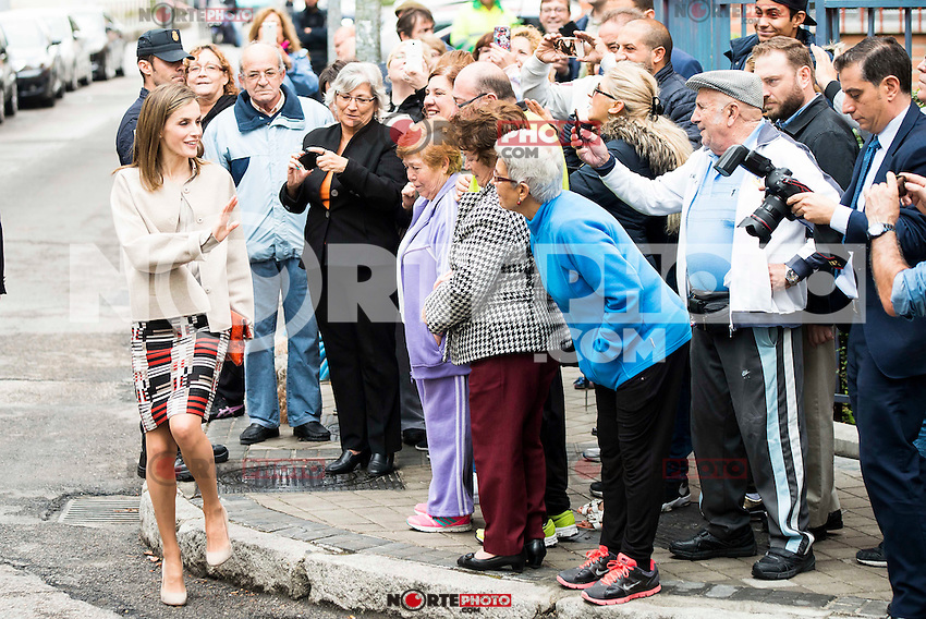 "Queen Letizia of Spain during work meeting at headquarter of the Confederacion Salud Mental España"" in Madrid. October 18, 2016. (ALTERPHOTOS/Borja B.Hojas)"