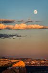 Super Moon Rising over Bryce Canyon, Utah