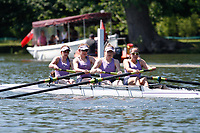 Race: 129 Event: A4+ Quarter-Final - Durham Univ vs UCD Ladies (IRE)<br /> <br /> Henley Women's Regatta 2017<br /> <br /> To purchase this photo, or to see pricing information for Prints and Downloads, click the blue 'Add to Cart' button at the top-right of the page.