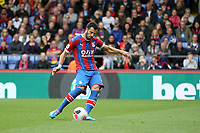 Luka Milivojević of Crystal Palace makes no mistake and buries the ball from the penalty spot for the first goal of the game during the Premier League match between Crystal Palace and Norwich City at Selhurst Park on September 28th 2019 in London, England. (Photo by Mick Kearns/phcimages.com)<br /> Foto PHC/Insidefoto <br /> ITALY ONLY