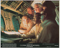 Close Encounters of the Third Kind (1977) <br /> Lobby card<br /> *Filmstill - Editorial Use Only*<br /> CAP/KFS<br /> Image supplied by Capital Pictures