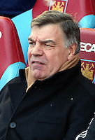 Pictured: Sam Allardyce, manager for West Ham. 01 February 2014<br />