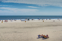 Atlantic City World-famous Boardwalk, Sand, Resort hotels,  Architecture;  New Jersey; Seaside Resort;