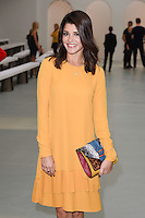 Natalie Anderson<br /> at the Jasper Conran catwalk show as part of London Fashion Week SS17, Brewer Street Car Park, Soho London<br /> <br /> <br /> &copy;Ash Knotek  D3155  17/09/2016
