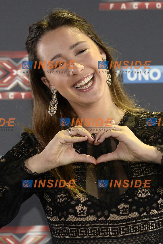 Db Milano 26/10/2016 - photocall trasmissione Tv 'X-Factor' / foto Daniele Buffa/Image/Insidefoto <br /> nella foto: Aurora Ramazzotti