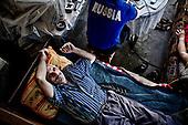 Sochi 02.06.2010 Russia<br /> Inhabitants of one of the houses on the outskirts of Sochi, began a hunger strike. Federation authorities ordered them to move away from their large holdings in connection with this, with about 400 meters from their hockey hall is built for the Olympic Games and their home spoils the view. The amount of the Federation who offered the residents is very low that's why residents will fight for their rights.<br /> Photo: Adam Lach / Napo Images for Newsweek Polska<br /> <br /> Mieszkancy jednego z domow na obrzezach Soczi zaczeli strajk glodowy. Wladze Federacji nakazaly im wyprowadzic sie z ich wielkiego gospodarstwa w zwiazku z tym, ze okolo 400 metrow od nich budowana jest hala hokejowa na igrzyska olimpijskie i ich mieszkania psuja widok. Kwota ktora Federacja oferowala mieszkancom jest bardzo niska dlatego mieszkancy beda walczyc o swoje prawa.<br /> Photo: Adam Lach / Napo Images for Newsweek Polska