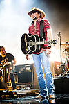 Jason Aldean performs during the 2013 CMT Music awards at the Bridgestone Arena on June 5, 2013 in Nashville, Tennessee.