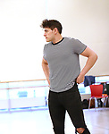"""Casey Cott during the rehearsal for The Kennedy Center production of """"The Who's Tommy"""" at the New 42nd Street on April 11, 2019 in New York City."""