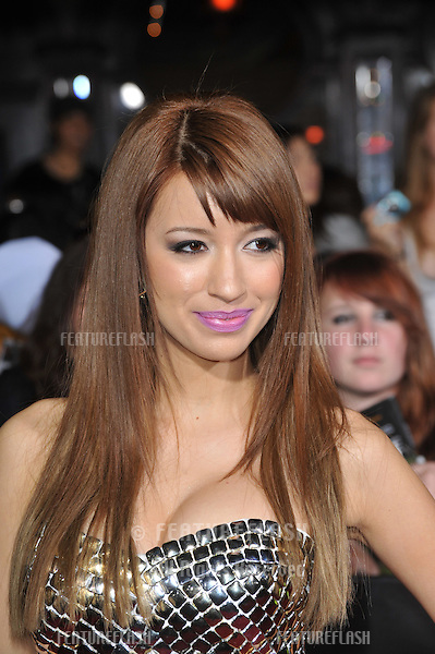 "Christian Serratos at the world premiere of her new movie ""The Twilight Saga: New Moon"" at Mann Village & Bruin Theatres, Westwood..November 16, 2009  Los Angeles, CA.Picture: Paul Smith / Featureflash"