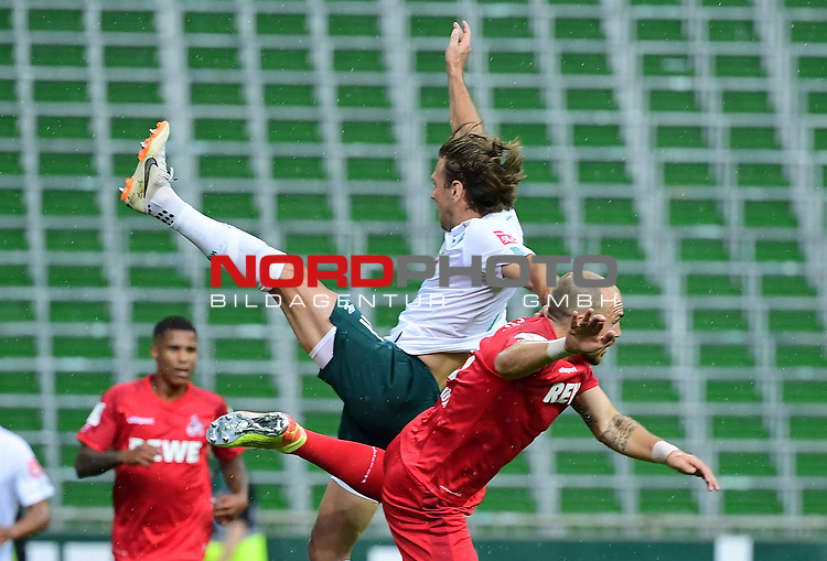 v.l. Niclas Fuellkrug (Bremen), Rafael Czichos<br />