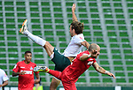 v.l. Niclas Fuellkrug (Bremen), Rafael Czichos<br />Bremen, 27.06.2020, Fussball Bundesliga, SV Werder Bremen - 1. FC Koeln<br />Foto: VWitters/Witters/Pool//via gumzmedia/nordphoto<br /> DFL REGULATIONS PROHIBIT ANY USE OF PHOTOGRAPHS AS IMAGE SEQUENCES AND OR QUASI VIDEO<br />EDITORIAL USE ONLY<br />NATIONAL AND INTERNATIONAL NEWS AGENCIES OUT