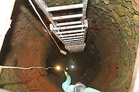 COPY BY TOM BEDFORD<br /> Pictured: The well where the remains of a body have been discovered in Malia, Creete, Greece. Monday 20 February 2017<br /> Re: Police have found the remains of the body in a well near a cemetery in Malia, on the Greek island of Crete with local news outlets speculating that it maybe that of 20 year old Briton Steven Cook who went missing on the 1st of September 2005. A disposable camera and a belt were reportedly found next to the remains.