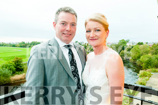 25th Wedding Anniversary : James 7 Margaret Mahony, Ballylongford, celebrating their 25th Wedding anniversary at the Listowel Arms Hotel on Saturday last.