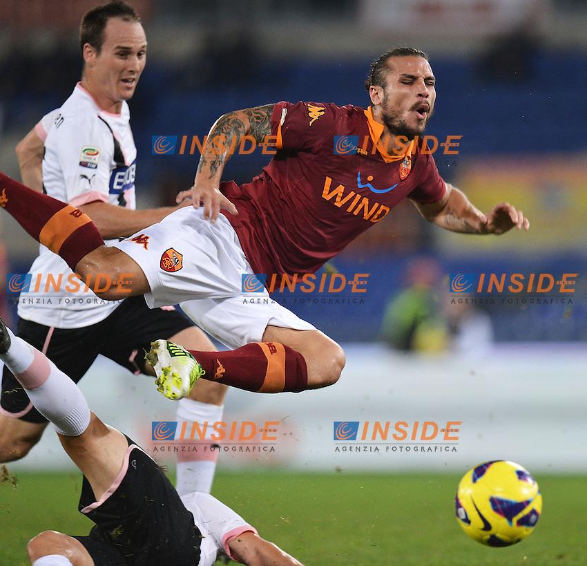 "Daniel Pablo Osvaldo Roma.Roma 4/11/2012 Stadio ""Olimpico"".Football Calcio 2012/2013 Serie A.Roma Vs Palermo.Foto Andrea Staccioli Insidefoto"