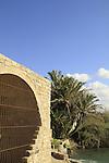 Israel, Carmel Coastal Plain, the Ottoman flour mill at Nahal Taninim Nature Reserve