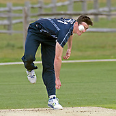 Cricket Scotland - Scotland V Sri Lanka at Kent County cricket ground at Benkenham, in the first of two matches this week, on Sunday (today) and Tuesday - picture shows Chris Sole, who took two wickets in the match- picture by Donald MacLeod - 21.05.2017 - 07702 319 738 - clanmacleod@btinternet.com - www.donald-macleod.com