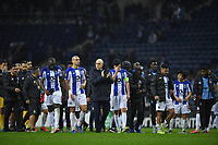27th February 2020; Dragao Stadium, Porto, Portugal; UEFA Europa League  FC Porto versus Bayer Leverkusen; Players of FC Porto after the match as they lose 1-3