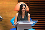 Vice Mayor of Madrid Begona Villacis during the presentation of 'Meninas Madrid Gallery' at Madrid town hall. October 01, 2019. (ALTERPHOTOS/Francis Gonzalez)