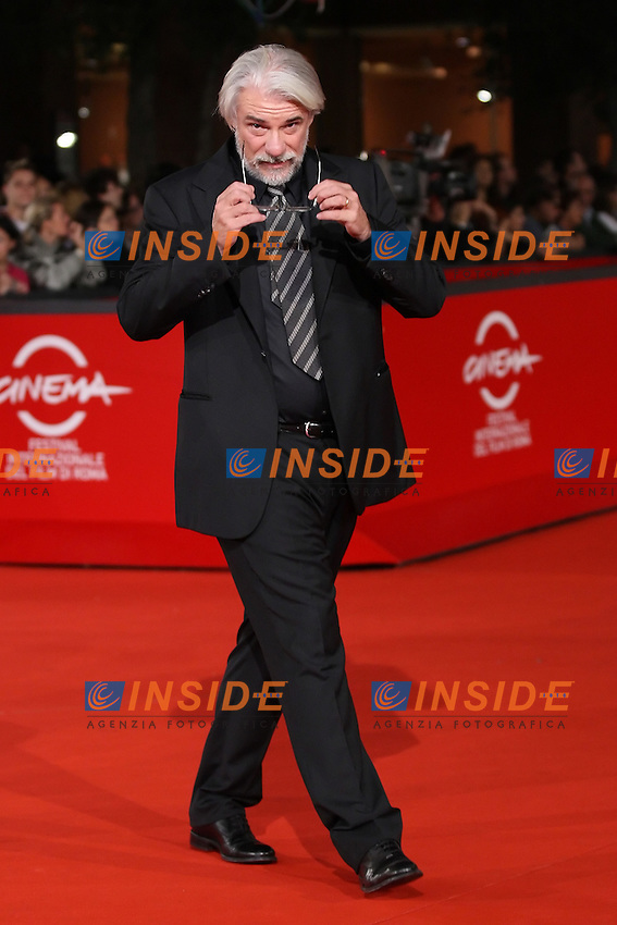 Ricky Tognazzi during the red carpet of the film  &quot;L'Uomo che ama&quot; at the&nbsp;third edition of Festa Internazionaledel Cinema di Roma, Auditorium Parco della Musica, October 23, 2008. <br /> Ricky Tognazzi durante il red carpet del film &quot;L'Uomo che ama&quot; alla terza edizione della Festa Internazionale del Cinema di Roma.<br /> Roma 23/10/2008 Auditorium Parco della Musica. <br /> Photo Antonietta Baldassarre Inside