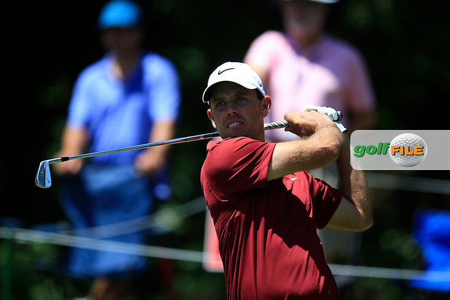 Charl Schwartzel (RSA) on the 8th during round 3 at The Players, TPC Sawgrass, Ponte Vedra Beach, Florida, United States. 09/05/2015<br /> Picture Fran Caffrey, www.golffile.ie