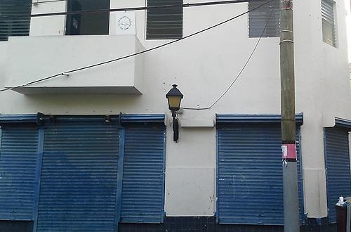 Casa donde nació Francisco Noel el 3 de diciembre de 1882, situada en la calle 19 de Marzo No. 254 esquina calle Salomé Ureña, en la zona colonial de la ciudad de Santo Domingo.