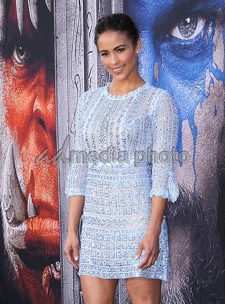 "06 June 2016 - Hollywood, California - Paula Patton. Arrivals for the Premiere Of Legendary Pictures and Universal Pictures' ""Warcraft"" held at the TCL Chinese Theater IMAX. Photo Credit: Birdie Thompson/AdMedia"