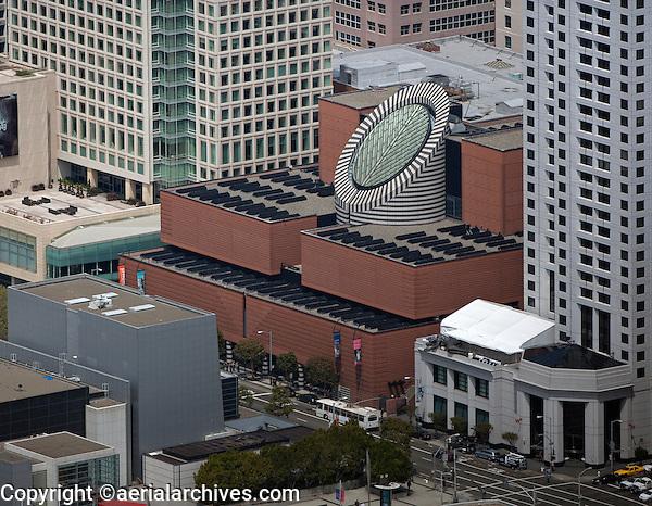 Aerial photograph soma san francisco california aerial for San francisco new museum