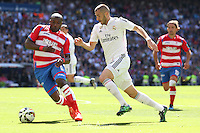 Real Madrid´s French forward Karim Benzema