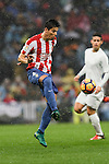 Jorge Mere of Real Sporting de Gijon in action during the La Liga match between Real Madrid and Real Sporting de Gijon at the Santiago Bernabeu Stadium on 26 November 2016 in Madrid, Spain. Photo by Diego Gonzalez Souto / Power Sport Images