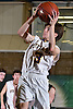 Elia DeBlasio #3 of Oyster Bay drives to the net during the Nassau County varsity boys basketball Class B final against Carle Place at SUNY Old Westbury on Thursday, Feb. 23, 2017. Oyster Bay won by a score of 51-31.