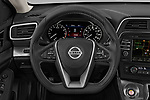 Car pictures of steering wheel view of a 2019 Nissan Maxima SV 4 Door Sedan Steering Wheel